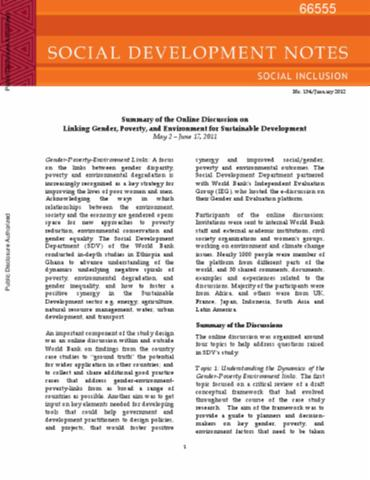 important notes for gender and development United nations girls' education initiative (ungei) gender and skills development: a review background paper for the efa global monitoring report 2012.