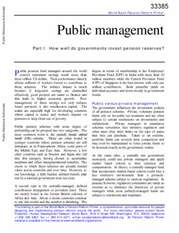 Public Administration cheapest way to edit pdf