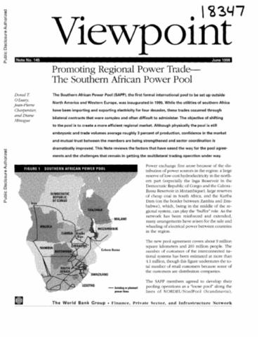 Search promoting regional power trade the southern african power pool sciox Images