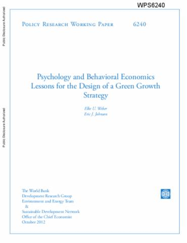 behavioral economics research papers The whys of social exclusion : insights from behavioral economics (english) abstract all over the world, people are prevented from participating fully in society through mechanisms that go beyond the structural and institutional barriers identified by rational choice theory (poverty, exclusion by law or force, taste-based and statistical.