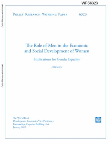 womens role in economics Join our international women's day campaign  + there are few women role  models in economics, and the ones who are in economics are much less likely to .