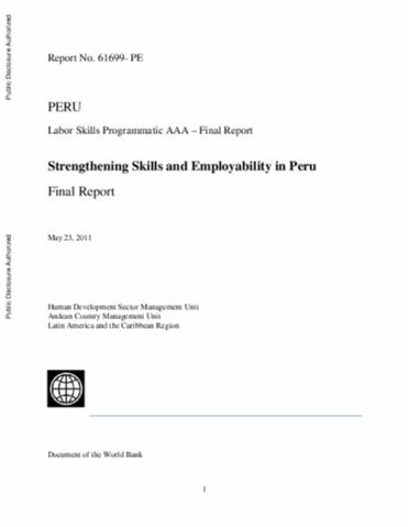 Skills for the Labor Market in Indonesia : Trends in Demand, Gaps, and Supply