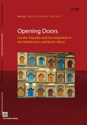 Thumbnail & Opening Doors : Gender Equality and Development in the Middle East ... Pezcame.Com