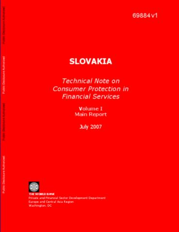 Doing business 2014 economy profile comoros slovakia technical note on consumer protection in financial services volume 1 main report sciox Images