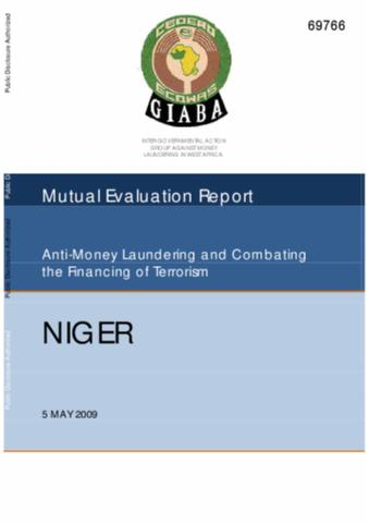 money laundering and the financing of terrorism essay This free law essay on essay: international initiatives to fight money laundering is perfect for law students to use as an example.