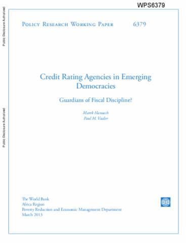 Credit rating research paper