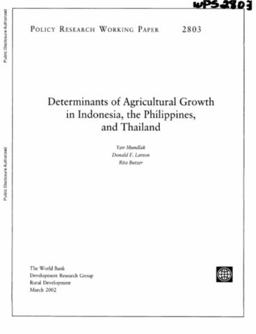 importance of agriculture in rural development pdf