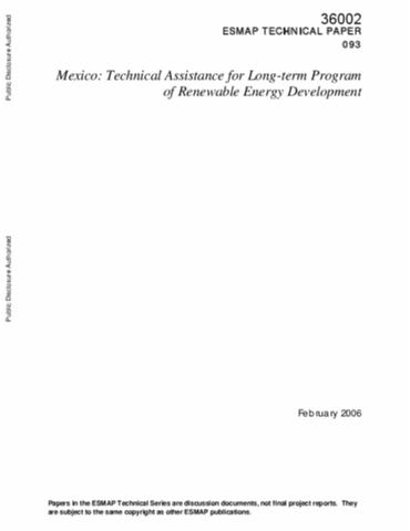 term papers on mexico