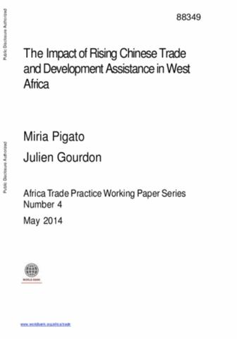 strengthening china and india s trade and investment ties to the middle east and north africa pigato miria