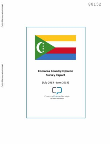 Search comoros country opinion survey report july 2013 june 2014 sciox Images