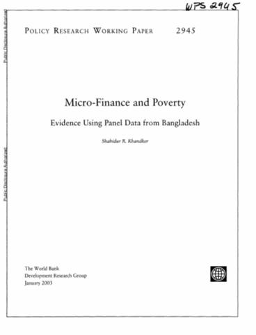 Literature review on microfinance institutions in uganda