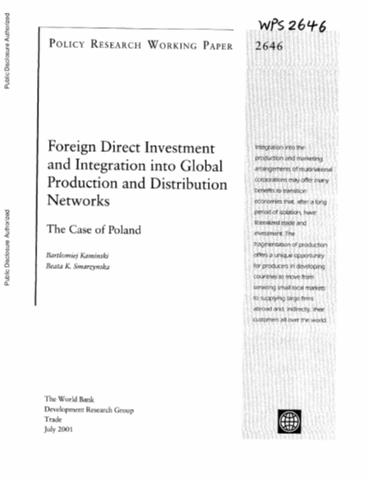 foreign investment during the recent global Foreign direct investment in times of crisis recent years, inflows to emerging during 2007, global foreign direct investment.