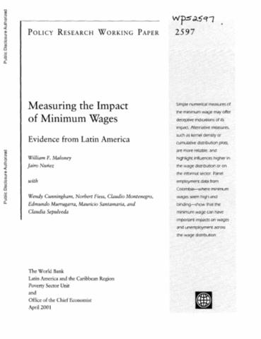 understanding the impact of the minimum wage of workers In report on effects of st paul minimum-wage hike, echoes of minneapolis debate share this:  why does she deserve to earn $15 an hour plus tips when the other minimum wage workers in the.
