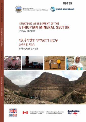 Strategic Assessment of the Ethiopian Mineral Sector : Final Report