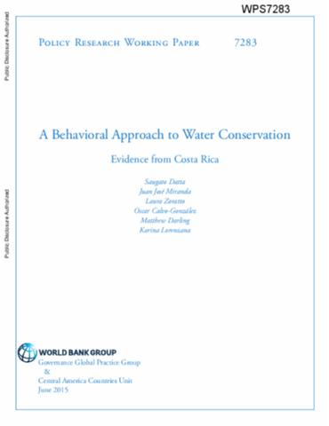 research papers on water conservation