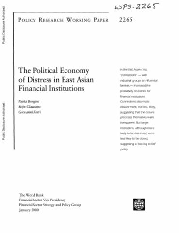 asian financial institutions paper This paper argues that due to ill-advised economic policies, businesses suffered, the housing market failed, and financial institutions were in disarray after the stock market plunged to new lows a number of issues were pointed out to be causes of the.