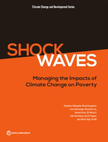 Cover of Shock Waves : Managing the Impacts of Climate Change on Poverty