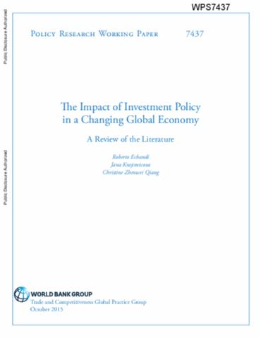 the potential impact of foreign direct investment on emerging economies China remains a potent lure for foreign investment there are emerging markets where improved governance (and the impact of that slowdown is felt in.