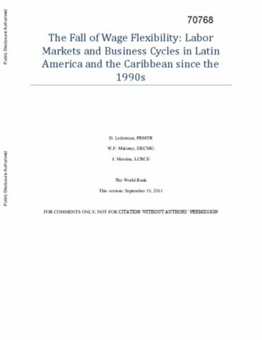 business cycle synchronization in latin america Deeper trade integration between central america and the united states, as envisaged under the central american free trade agreement, is likely to lead to closer links between central.