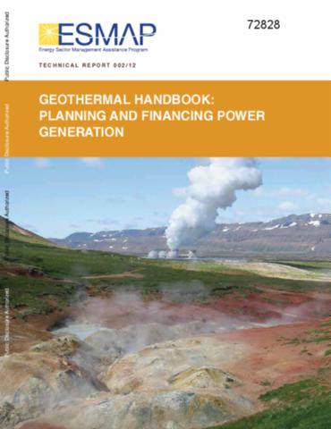 Geothermal handbook planning and financing power generation sciox Gallery