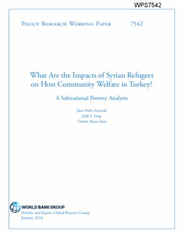 what are the impacts of syrian refugees