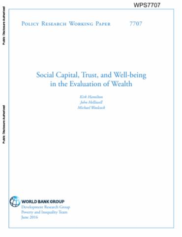 world bank policy research working paper no