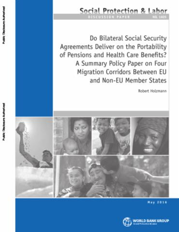 Do bilateral social security agreements deliver on the portability do bilateral social security agreements deliver on the portability of pensions and health care benefits a summary policy paper on four migration platinumwayz
