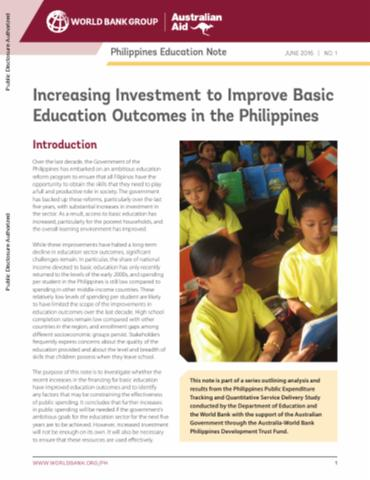 Building Better Learning Environments in the Philippines