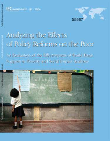 evaluating the effectiveness of world bank' Baker, judy (2000) evaluating the impact of development projects on poverty: a handbook for practitioners washington dc: world bank bamberger, michael (2006.