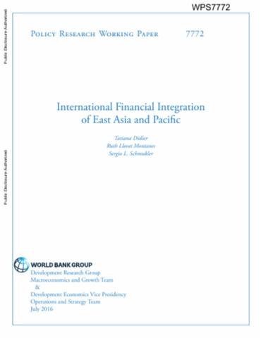 essays on financial integration and growth