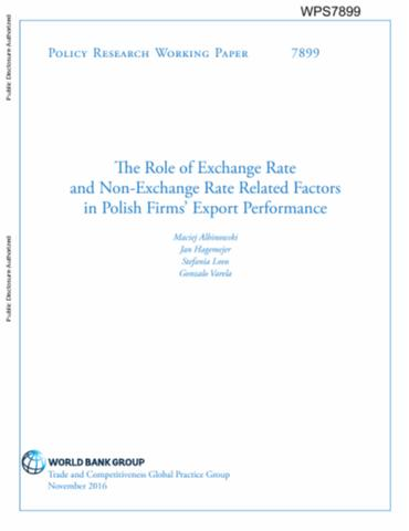 The Role Of Exchange Rate And Non Related Factors In Polish Firms Export Performance
