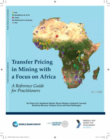 Transfer Pricing in Mining with a Focus on Africa A Reference