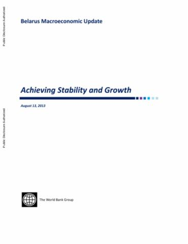 macroeconomic management from stabilization to growth Abstract this paper examines bangladesh's macroeconomic performance in the light of market-oriented liberalising policy reforms by looking at the trends in fiscal, external and investment-savings balances, it analyses how, despite falling inflows of foreign aid, bangladesh achieved macroeconomic stabilisation and an acceleration of economic growth in the 1990s.