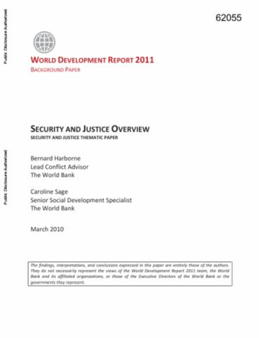 Securing Development : Public Finance and the Security Sector
