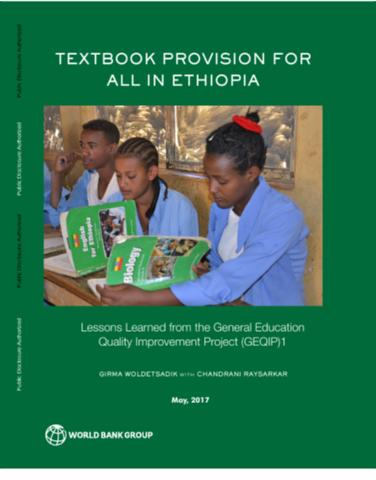 Textbook Provision for All in Ethiopia : Lessons Learned from the General Education Quality Improvement Project