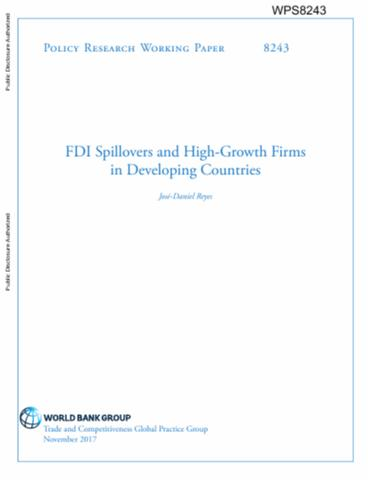 fdi spillovers in slovakia focus Financing inclusive development through aid and fdi:  financing inclusive development through aid and  of host country spillovers from foreign direct investment.