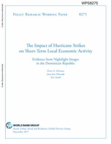 The impact of hurricane strikes on short term local economic the impact of hurricane strikes on short term local economic activity evidence from nightlight images in the dominican republic publicscrutiny Gallery