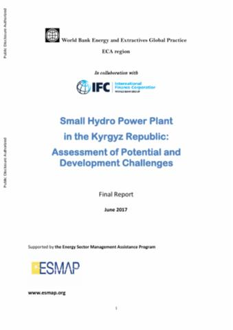 Small Hydro Power Plant in the Kyrgyz Republic : Assessment
