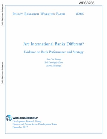 world bank policy research working paper no 4308 Balogun, emmanuel dele (2007): monetary policy and economic performance of  west african  mpra_paper_4308pdf  national bureau of economic  research working paper no  world bank working paper series no.