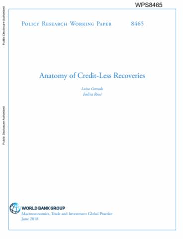 Anatomy of Credit-Less Recoveries