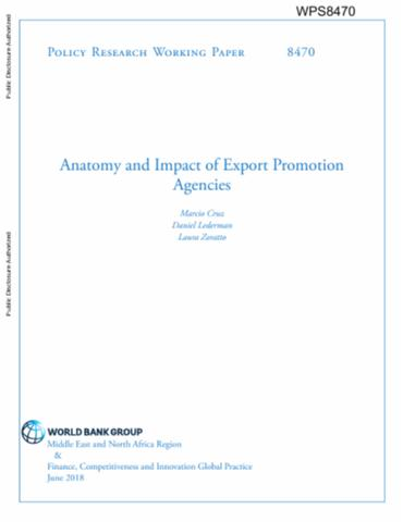 Anatomy and Impact of Export Promotion Agencies