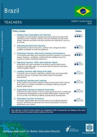 Systems Approach for Better Education Results (SABER)