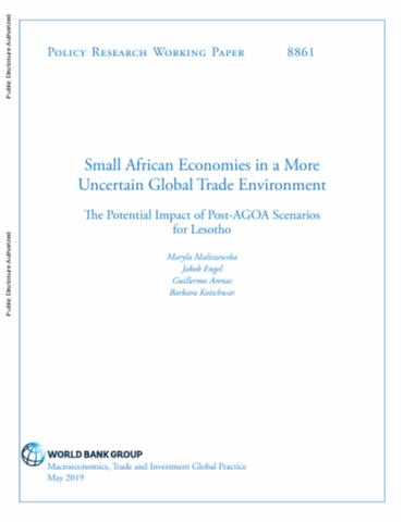 Small African Economies in a More Uncertain Global Trade Environment