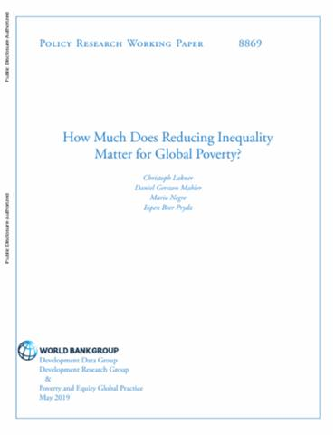 How Much Does Reducing Inequality Matter for Global Poverty?