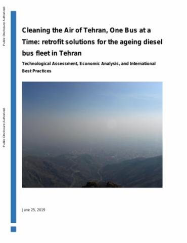 Air Pollution in Tehran : Health Costs, Sources, and Policies