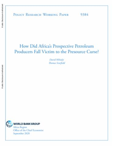 How Did Africa's Prospective Petroleum Producers Fall Victim to the Presource Curse?