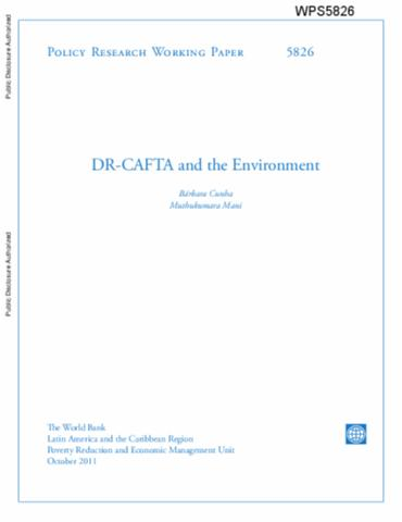 Dr Cafta And The Environment