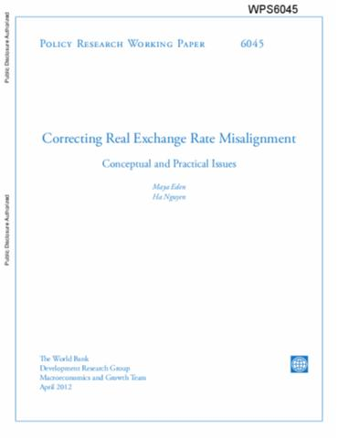 Correcting Real Exchange Rate Misalignment Conceptual And Practical Issues