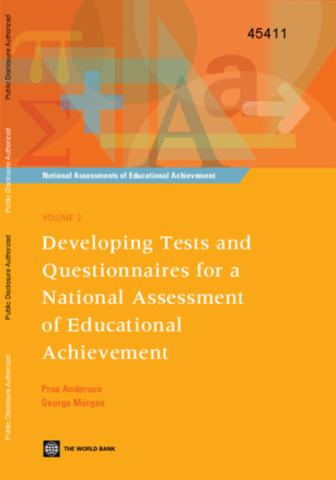 Developing tests and questionnaires for a national assessment of developing tests and questionnaires for a national assessment of educational achievement malvernweather Choice Image
