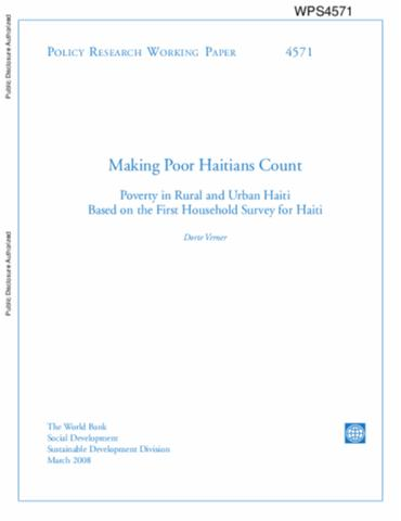 poverty in haiti essay Related essays: haiti and un peacekeeping missions view paper haiti and un peacekeeping missions the latest era of the un presence in haiti started during september 1991 at the time when president aristide's democratically elected administration was ousted a.